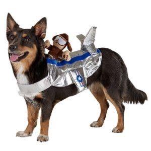 Top Paw Pilot Rider Costume